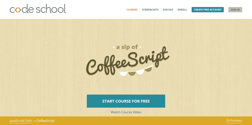 CoffeeScript-Code-School